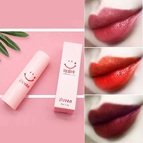 99native Lippenstift, Samt Matte Lipgloss Langer Halt Feuchtigkeitsspendender und Pflegender Lippenstift, Wasserfest, Farbecht Lippenbalsam (H)
