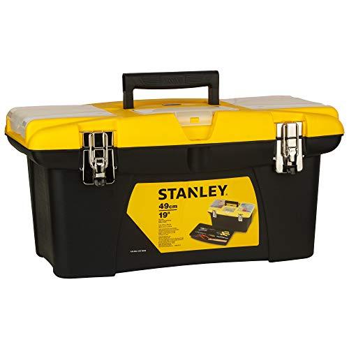 Stanley Caja Jumbo con Cierres metálicos 19  48cm 1-92-906, 48.3 cm