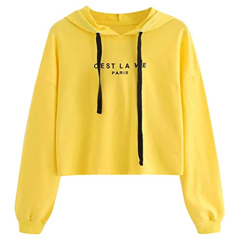 TWIFER Frauen 2020 Herbst Winter Buchstaben Langarm Hoodie Pullover Sweatshirt