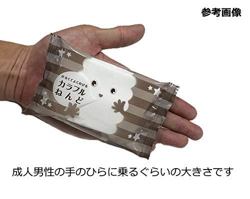 カラー軽量紙粘土カラフルねんど(約60cc)(白)