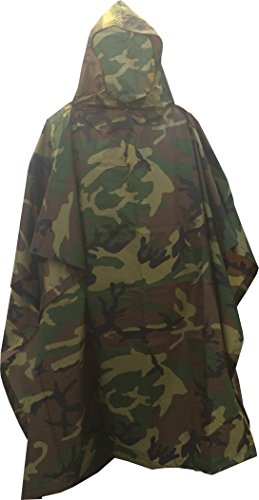 Fire Force #8740 Military Style Poncho