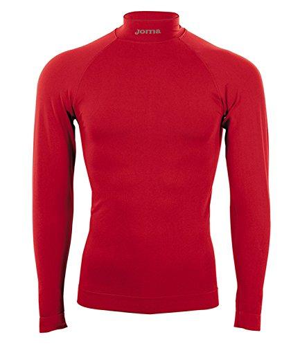 Joma 3477.55.350s - Camiseta para niño, Niños, color rojo, tamaño 8-10 años