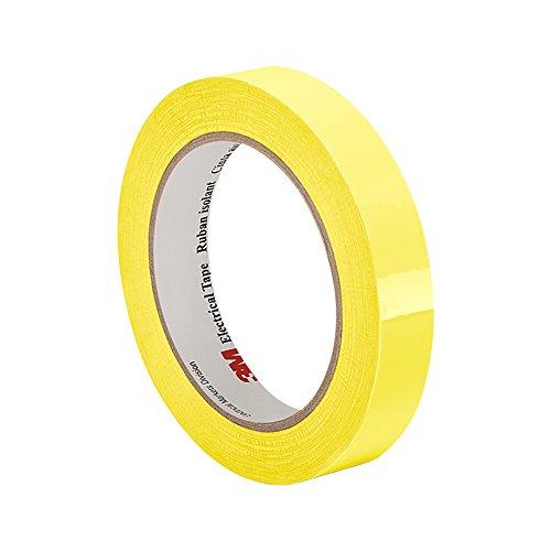 Tapecase 561,6cm x 65,8m nastro isolante giallo pellicola di poliestere, 5,8cm di spessore, 182,9cm lunghezza, 1,6cm larghezza