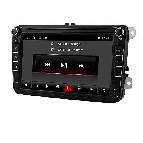 Android 10 Autoradio GPS Bluetooth Adatto per Volkswagen Skoda Passat Sedile da golf 8 pollici auto GPS Mirror-link WIFI DAB +
