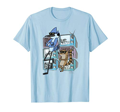 Regular Show Mordecai and Rigby TV Too Cool T-Shirt