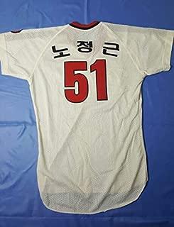 韓国プロ野球 ヘテ-タイガース 実メッシュユニフォーム#51