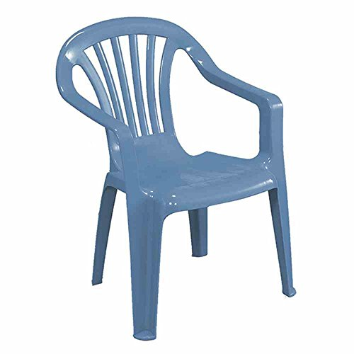 Progarden Stuhl Kindermonoblock Sedia, Baby, blau