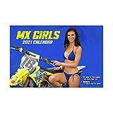 カレンダー MX-ガールズ 2020年9月~2021年12月(16か月)壁掛け モトクロス バイク WESTWOODMX