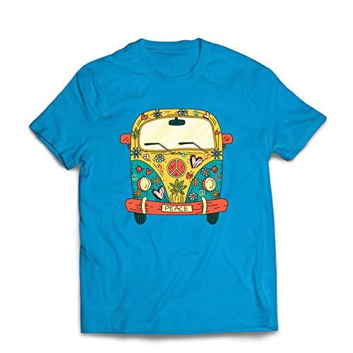 Hippie Van Camper Large Print Bambini children/'s T-Shirt-Simbolo di pace da Campeggio