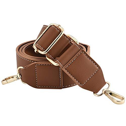 INSOUR Taschengurt Breit Verstellbar Schulterriemen für Schultertasche und Handtasche, 140 cm Lang und 3,8 cm