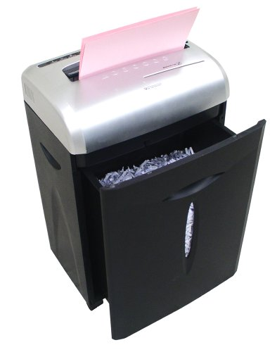 Aurora AS1023CD 10 Sheet Paper Shredder with Large 18L Pull-Out Waste Bin