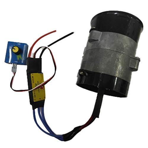 Noblik Caricabatteria per Auto Elettrica Universale per Turbina Elettrica Potenza Turbo Tan Boost Ventola di Aspirazione Aria 12V