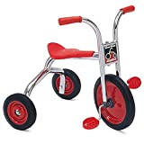Angeles SilverRider Toddler 14' Tricycles, 2 Pack, Big 3 Wheel Kids Bikes, Girls/Boys Trikes for Homeschool/Daycare/Preschool, Silver/Blk (AFB0300SR2)