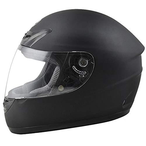 Autopeck Helmets Casco de Cara Completa para Motocicleta, Motocicleta,