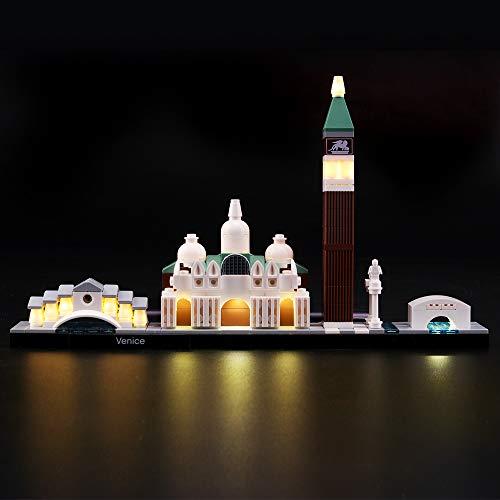 LIGHTAILING Licht-Set Für (Architecture Venice) Modell - LED Licht-Set Kompatibel Mit Lego 21026(Modell Nicht Enthalten)