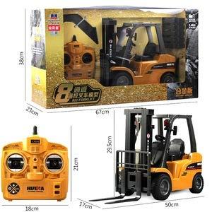 RC Auto kaufen Baufahrzeug Bild 5: s-idee® S1577 Rc Gabelstapler und Kran 8 Kanal 1:10 mit 2,4 GHz Huina 1577*