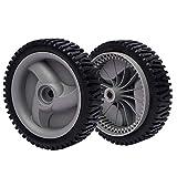 2 Pack Mower Front Drive Wheels for Craftsman Husqvarna 194231X460 401274X460 583719501 Wheel 8' X1-3/4