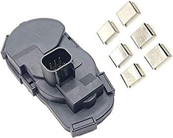 Throttle Position Sensor Kit with Clips and Cover for 2005-2015 Buick GMC Cadillac Hummer Saturn Oldsmobile Pontiac Chevrolet Vehilcles SUV Pickup TH445 19259452
