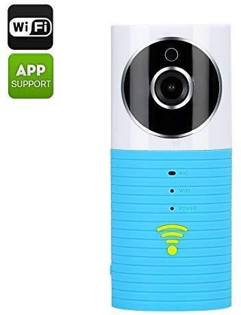 Wi-Fi IP-Kamera und Baby Monitor 'Teddy Bear' - 1/3 Zoll CMOS-Sensor, Bewegungserkennung, Nachtsichtgeräte, SD-Karten-Aufnahme, Dual-Wege-Audio lsmaa