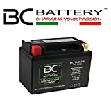 BC Lithium Batteries BCTX9-FP Batería Litio para Moto LiFePO4, Negro, 1