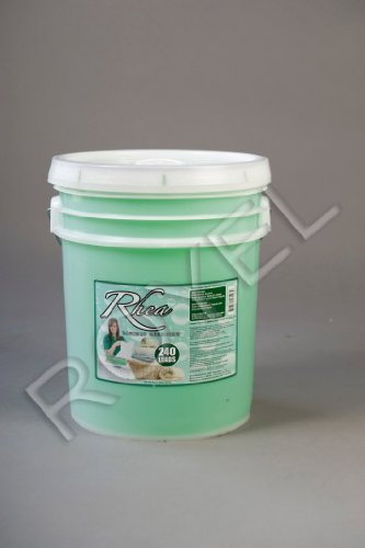 Rhea Laundry Detergent 5 Gallon Pail, 672 Oz $25.00 Each, Compared to Top Leading Brands