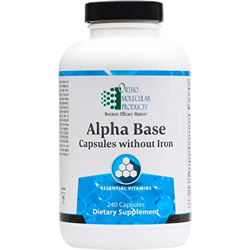 Alpha Base Capsules Without Iron (240ct)