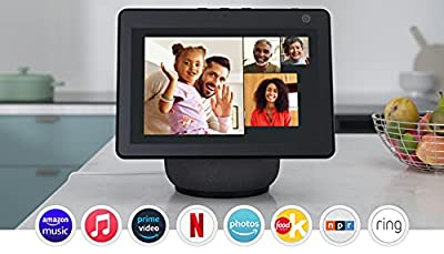 Echo Show 10 (3rd Gen)   HD smart display with motion and Alexa   Charcoal