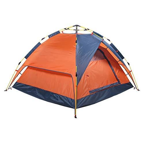 Allamp Tienda al Aire Libre, la Cuenta Interna Tres Personas Son Libres for Abrir un Camping de montaña Doble Tienda de campaña, se Puede Utilizar como un toldo/Puede ser Utilizado Solo