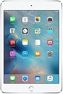 "Apple iPad Mini 4 128GB WiFi 7.9"" Tablet - Silver (Refurbished)"
