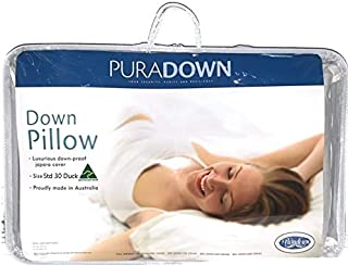 Puradown Standard 30 Duck Pillow Down Pillows