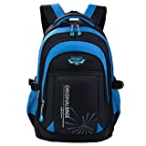 Schulrucksack Jungen Teenager, Fanspack Schulranzen Jungen Rucksack Jungen Teenager Backpack Rucksäcke School Bag Schultasche Tasche Travel Sport Outdoor...