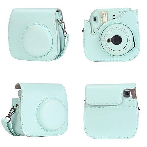 Anter 17 in 1 Mini 9 Accessories fit to Fujifilm Instax Mini 9 Instant Film Camera (Ice Blue)