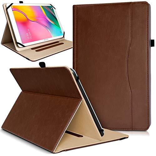 Karylax - Funda de protección con función atril para Samsung Galaxy Tab S6 SM-T860 (tamaño grande), color marrón