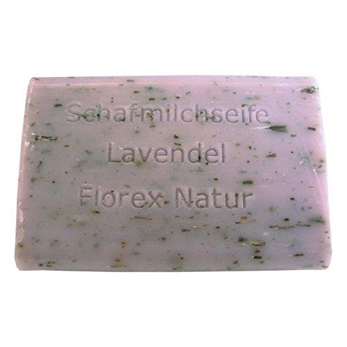 florex Lait de brebis Savon Rectangulaire Lavande 100 g