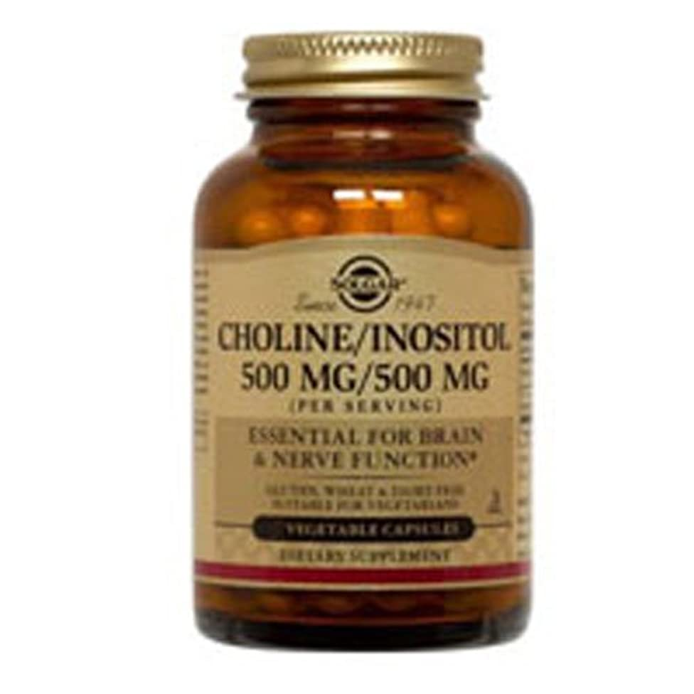 Choline/Inositol 250/250mg 100 Vcaps 3-Pack