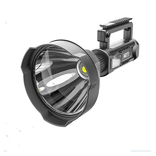 Changskj Suchscheinwerfer Super helle LED-bewegliche Scheinwerfer Taschenlampe Scheinwerfer mit P70.2 Lampen-Korn Montagehalterung geeignet (Emitting Color : Package A)
