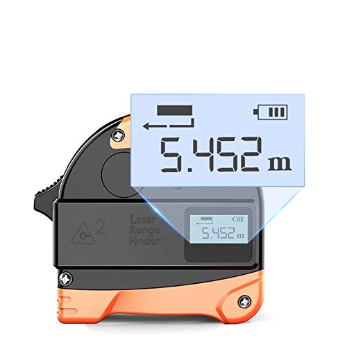 ASWT-digitaal meetlint, hand-LCD digitaal display infrarood hoge precisie afstandsmeter USB Charge staal bandmaat intelligente liniaal 30 m