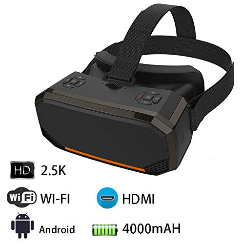 Buy Bargain All in One VR Headset 3D Smart Glasses,Virtual Reality Goggles VR Helmet 2K WiFi HDMI Vi...