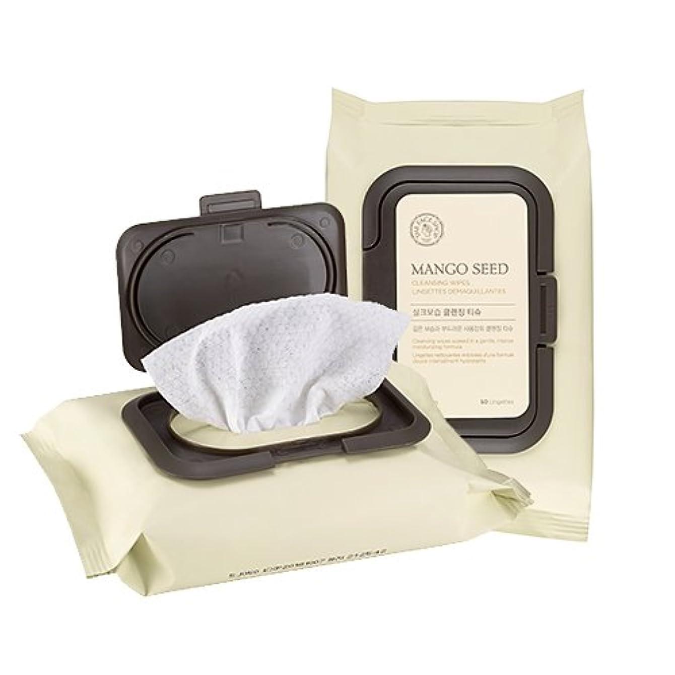 上に宣教師ピアTHE FACE SHOP Mango Seed Cleansing Tissue ザフェイスショップ マンゴシード シルク 保湿 クレンジング ティッシュ (50枚) [並行輸入品]