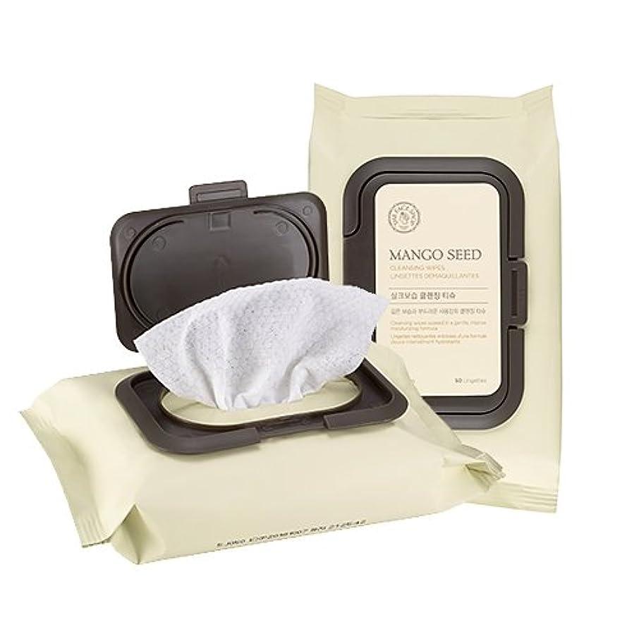ストラップ承認記録THE FACE SHOP Mango Seed Cleansing Tissue ザフェイスショップ マンゴシード シルク 保湿 クレンジング ティッシュ (50枚) [並行輸入品]