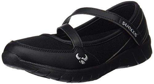Suecos® Frida, Damen Sandalen, schwarz - Black (Schwarz) - Größe: 39