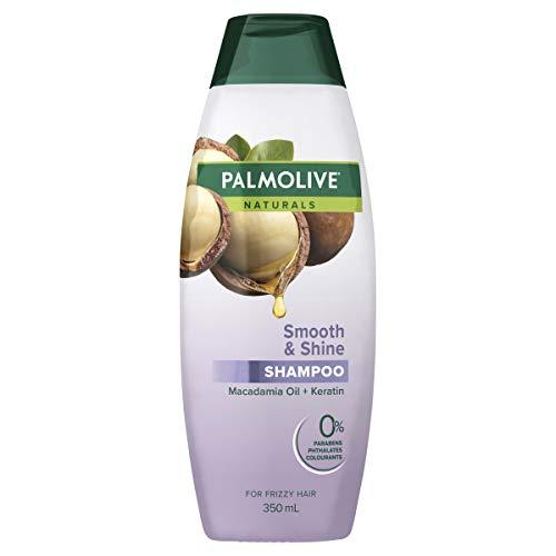 Palmolive Naturals Hair Shampoo Smooth & Shine Macadamia Oil + Keratin for Frizzy Hair No Parabens 350mL
