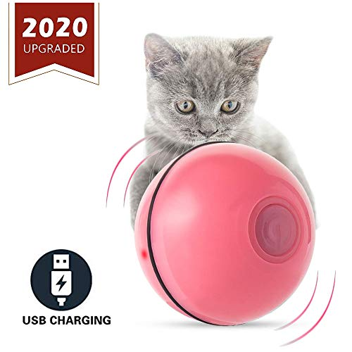 ELEBOOT 2019 Upgrade Vision Smart Interactive Cat Toys Ball,Automatic Rolling...