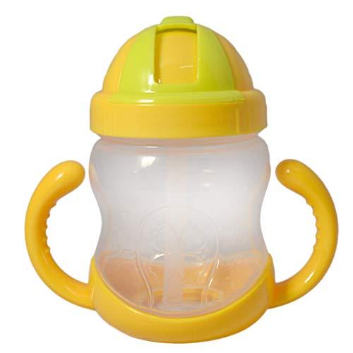 Ashley GAO Portable Sippy Cup Maneja Niño Bebiendo Taza Para Entrenamiento 240ML Exquisitamente Diseñado Durable Magnífico