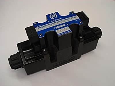 Northman Fluid Power Hydraulic Directional Control Valve - 19.8 GPM, 4500 PSI, 3-Position, Double Solenoid, Tandem Center Spool, 120 Volt AC Solenoids, Model# SWH-G03-C6-A120-10 from Northman Fluid Power