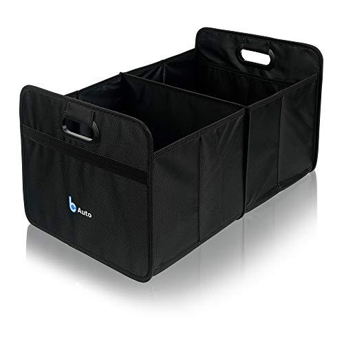 Organizador sencillo para maletero | plegable | negro | bolsa para maletero | bolsa de la compra