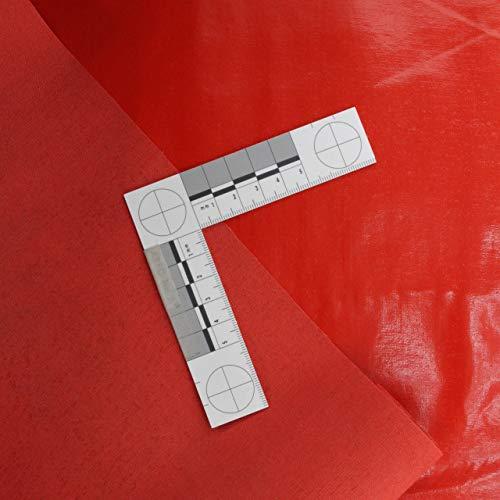 Finta pelle–Di Cuoio–Stoffe–Vernice Lucida–Rosso–Vendita al metro