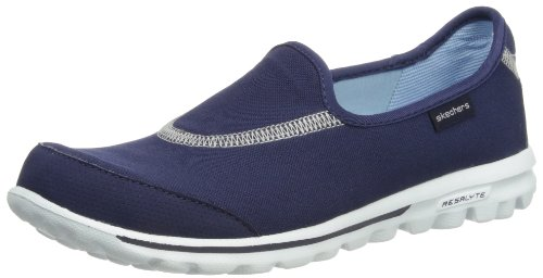 Skechers Performance Women's Go Walk Slip-On Walking Shoes, Navy, 7.5 M US