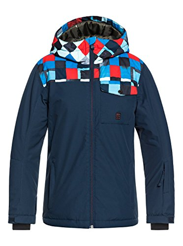 Quiksilver Mission Block - Snow Jacket for Boys 8-16 - Snow Jacke - Jungen 8-16