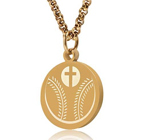 Sports Luke 1:37 Athletes Necklace